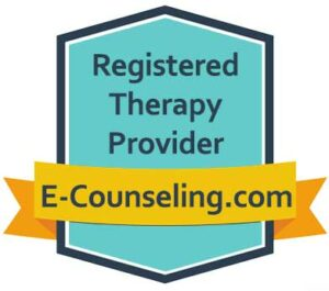 Registered Therapy Provider Badge e-counseling